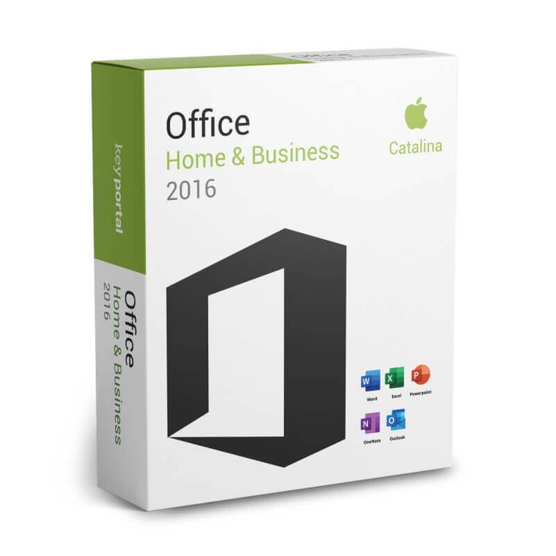 Office 2016 Home & Business Mac Catalina