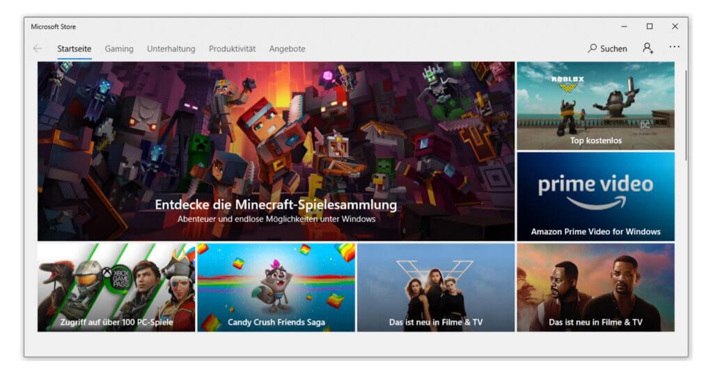 Erhalte erweiterte Angebote mit Windows 10 Pro