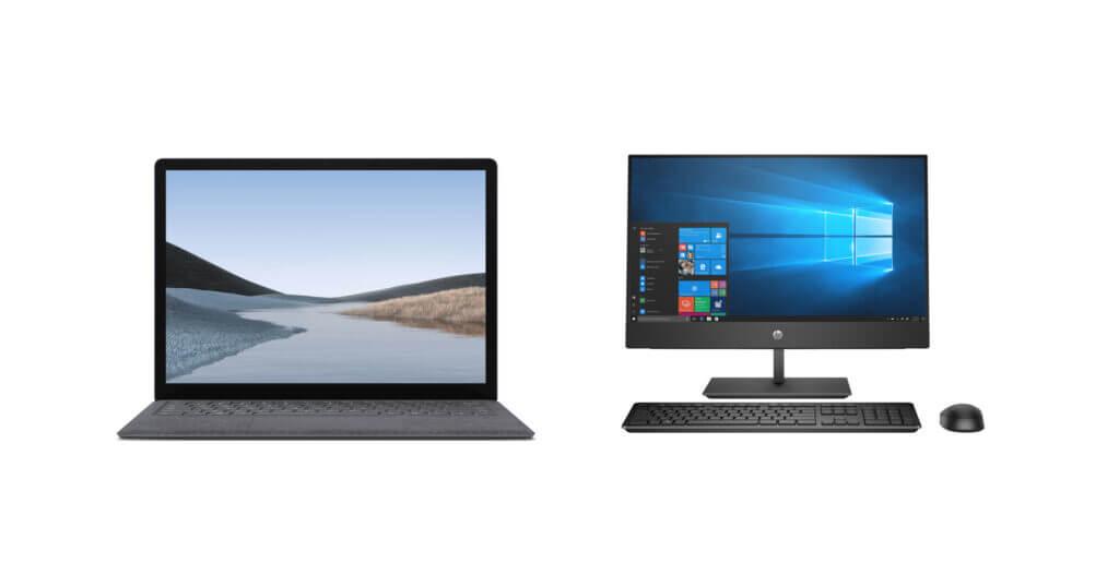 Ob Desktop-PC oder Laptop, Windows 10 lohnt sich